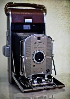 Vintage Polaroid Land Camera Model 95 #TheJunkPost
