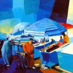 Por amor al arte: Pierrick Tual Galerie D'art, Main Theme, Printmaking, Jean Xxiii, Illustration, Painting, Normandy, Brittany, Contemporary
