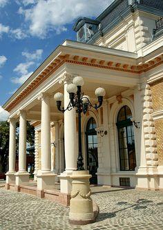 Franz Joseph and Sissi's Waiting Hall - Royal Waiting Hall Gödöllő, Hungary Neo-Renaissance style, 1882. Architect: Miklós Ybl