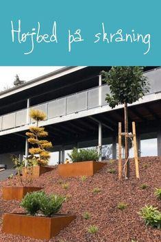 Højbede - Stort udvalg af højbede i dansk kvalitet - Køb online her Pergola, Exterior, Outdoor Structures, Gardening, Outdoor Decor, Home Decor, Nature, Outdoor Pergola, Garten