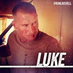 Canyon Prince plays 'Luke' in #RunLikeHell