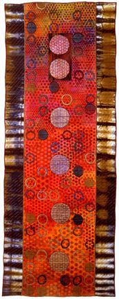 Geoforms by Michael Hardy Art Quilts.
