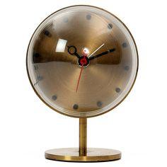 Brass Clock by Howard Miller Clock Co.