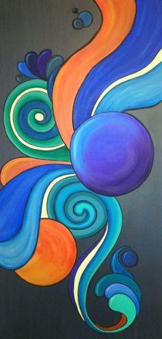 Resultado de imagen para pinturas muy coloridas . Take a look at