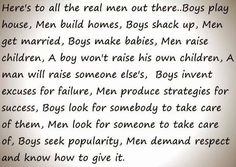 Here's to all the real men ❤