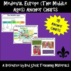 Anchor charts life under the articles of confederation anchor medieval europe the middle ages anchor charts fandeluxe Choice Image