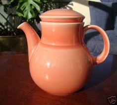Earthenware, Celtic, Tea Pots, Irish, Pottery, Ceramics, Orange, Tableware, Ceramica