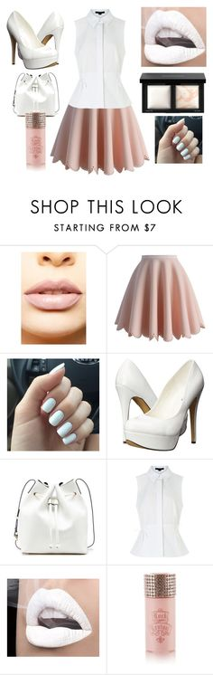 """""""Untitled #19"""" by dashthatfash ❤ liked on Polyvore featuring LASplash, Chicwish, Michael Antonio, Sole Society, Alexander Wang, Rock Revival and Bare Escentuals"""