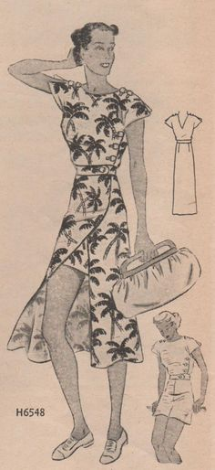 The Midvale Cottage Post: 1930s - A Play Suit to Envy