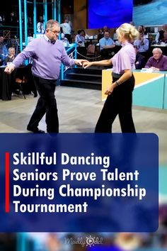 When a senior couple takes the stage at the National Shag Dance Championships, no one expected them to perform as well as they did. The pair showed off their perfectly timed moves and ended up winning the entire senior division of the competition. #Seniors #Dancing #Competition