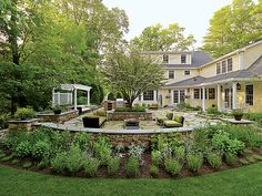 backyard landscape idea