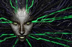 Look at you, hacker: a pathetic creature of meat and bone, panting and sweating as you run through my corridors. How can you challenge a perfect, immortal machine?    SHODAN, one of the best video game antagonists ever. (System Shock 2)