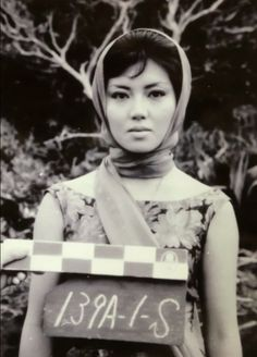 Kumi Mizuno's costume test shot for ATTACK OF THE MUSHROOM PEOPLE.  She remains our favorite!