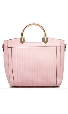 Pink Leather Bag Carry All Bag 5b201d408a69a