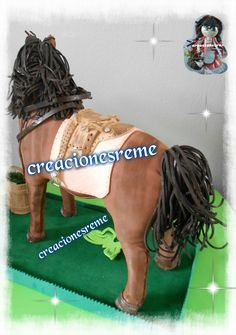fofucho caballo,caballo goma eva