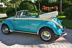1971 VW Super Beetle Convertible