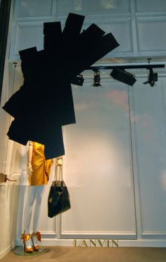 Lanvin black windows for women