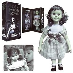 The Twilight Zone 'Talky Tina' doll replica -- All my nightmares began here.
