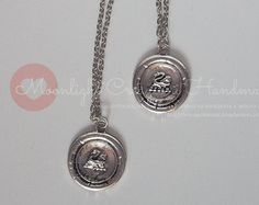 Check out Medallion with silver plated swan, inspired by Emma on moonlightcreazioni