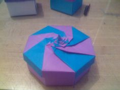 caja en espiral