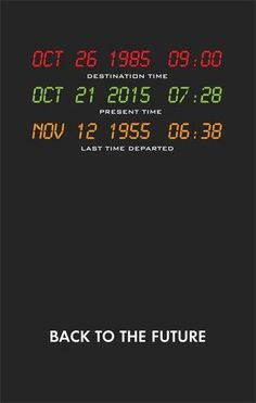 Today, October is the day Marty McFly went to the future. Back To The Future Party, The Future Movie, Movies Showing, Movies And Tv Shows, Future Wallpaper, Future Days, Cinema Tv, Bttf, Marty Mcfly