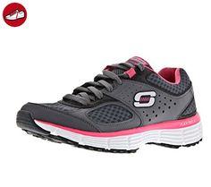 Skechers Agility Perfect Fit, Damen Sneaker , Grau (CCHP), 38 EU (