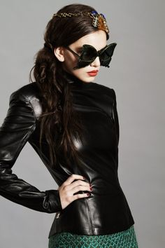 sleek ( #leather #womens ) ✌eace | H U M A N™ | нυмanACOUSTICS™ | н2TV™