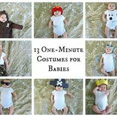 BabyZone: BabyZone: 13 One-Minute Halloween Costumes For Your Baby