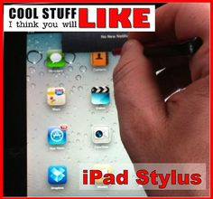 Just what I needed! Stylus for the iPad that WORKS!!!