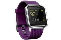 The Fitbit Blaze could be the smart watch for cyclists, with an in-built heart rate monitor in the strap so you don't have to wear one around your chest.