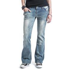 """#Jeans donna """"Grace"""" taglio Botcut della collezione #REDbyEMP con bottone con logo inciso e cerniera. Il 2% di elasthane rende questi jeans estremamente morbidi e confortevoli."""