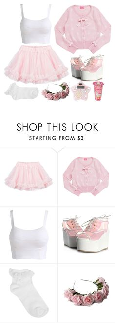 """""""I can sing Let It Go! Wanna hear?"""" by love-is-for-souls-and-witches ❤ liked on Polyvore featuring LILI GAUFRETTE, Oasis, LOTTA, Hello Kitty, women's clothing, women, female, woman, misses and juniors"""