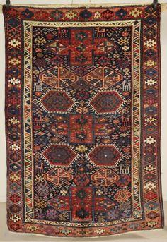 Kurdish rug, early 20th c.