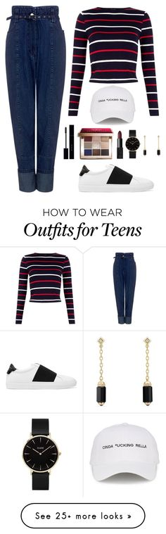 """Wonwoo X Pretty U MV"" by jleeoutfitters on Polyvore featuring Rachel Comey, Givenchy, Bobbi Brown Cosmetics, Natasha Zinko, Gucci, CLUSE and David Yurman"