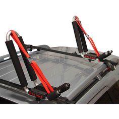 BC 1 Pair Canoe Boat Kayak Roof Rack Car SUV Truck Top Mount Carrier J Cross Bar XHT