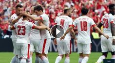 Football Highlights from UEFA Euro 2016 group A match: Albania vs Switzerland Match result: Albania 0 - 1 Switzerland Played on: June 11, 2016 Venue:S...