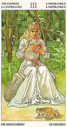 The Empress card from the Sorcerers Tarot deck
