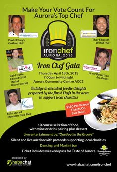 Iron Chef Aurora 2013