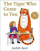 The Tiger Who Came to Tea by Judith Kerr. The doorbell rings just as Sophie and her mummy are sitting down to tea. What they certainly don't expect to see at the door is a big furry, stripy tiger! Albin Michel Jeunesse, Books To Read, My Books, Judith, Book Collection, Book Worms, Audio Books, Childrens Books, Humor