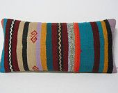 boho pillow cover Kilim Pillow Cover Kilim Throw Pillow Kilim Cushion Cover turkish pillow case decorative throw pillow sham accent pillow