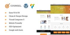 Counsel - Business & consulting WordPress theme