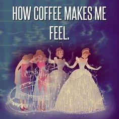 Coffee magic.