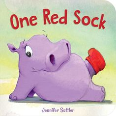 Written in rhyme and filled with humor, this little hippo cannot find her matching red sock. What's a mini-fashionista to do? Preschool Kindergarten, Toddler Preschool, Children's Picture Books, Story Time, Book Publishing, Green And Grey, Gray, New Pictures, Childrens Books