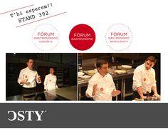 Fòrum gastronòmic Barcelona 2014 #bcn #forumgastronomic #uniformeshosteleria #chefs #csty