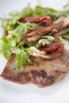 A pork appetizer at Town Restaurant・・・【スライドショー】ホノルルの休日
