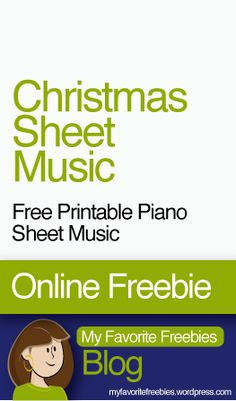 Christmas Sheet Music for Kids | There's a TON of free piano sheet music for beginners though intermediate level kids.