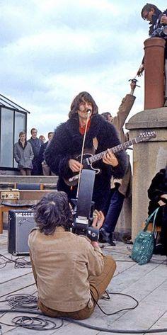 George Harrison (Rooftop Concert)