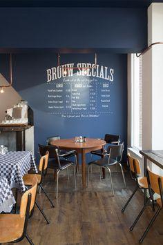 The Netherlands// Amsterdam // Bar Brouw Design Commercial, Commercial Interiors, Design Café, Cafe Design, Café Restaurant, Restaurant Design, Cafe Bistro, Cafe Bar, Amsterdam Bar