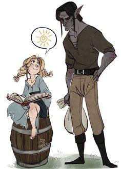 Darsis is just a nerd who got stuck raising a nerdynord