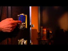 This video walks you through the available features on your Schlage Connect Smart Deadbolt, including how to lock and unlock your door, autolock, programming. Being Used, Door Handles, Connection, Gadgets, Locks, Wifi, Easy, Youtube, Door Knobs